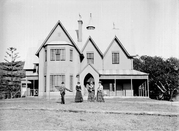 The Ridge or Hillcrest as it is sometimes known was the home of the Merewether family. By the standards of the time, it was a fantastic house, with extensive grounds.